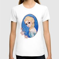 frozen elsa T-shirts featuring Elsa - Frozen by Naineuh