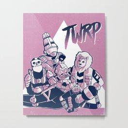 Tupper Ware Breakfast Party Metal Print