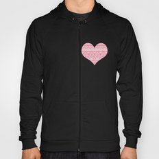 Patterned Valentine Hoody