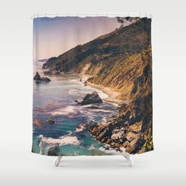 Big Sur Pacific Coast Highway Shower Curtain