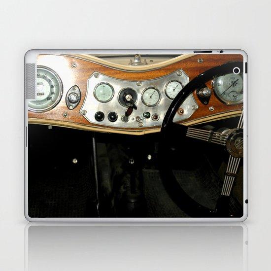 "1948 MG ""TC"" Sports Car Dashboard Laptop & iPad Skin"