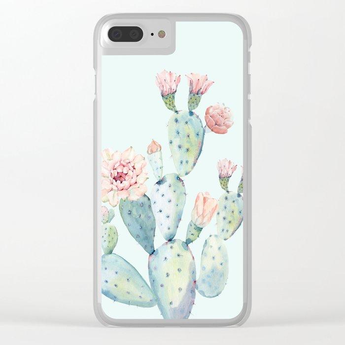 Cactus 2 #society6 #buyart Clear iPhone Case