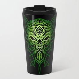 Celtic Wolf Travel Mug