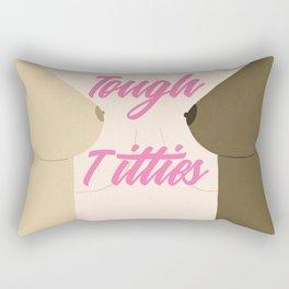Tough Titties - Nipple Version Rectangular Pillow