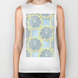 Lemon lemonade lemons Biker Tank