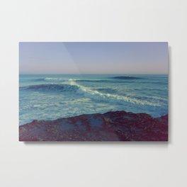 Santa Cruz Ocean Metal Print