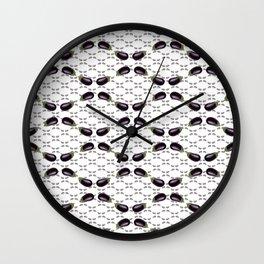 do you eggplant Wall Clock