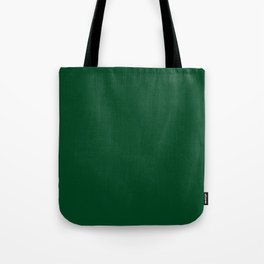 Forest Green (Traditional) - solid color Tote Bag