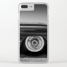 1949 Caddy Hotrod Clear iPhone Case