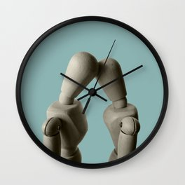 An impossible love lasts a lifetime. Wall Clock