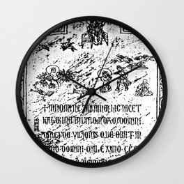 The Tombstone of Katarina Vilioni, from Yangzhou Wall Clock