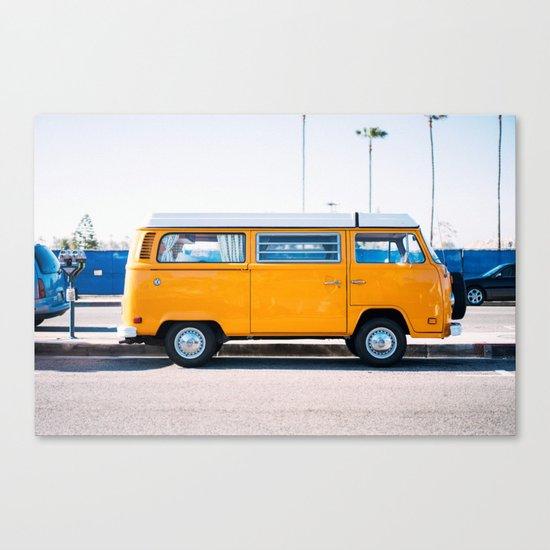 Combi yellow Canvas Print