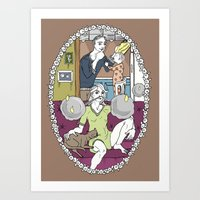 chocolate Art Prints featuring Chocolate by Madmi