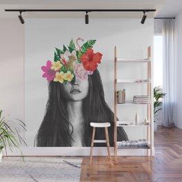 girl and secret garden Wall Mural