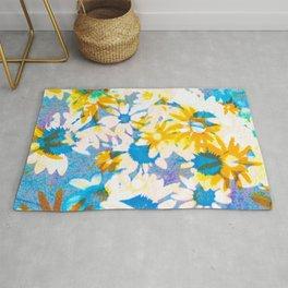 floral batik Rug