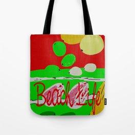 Beach Life Fruit  Tote Bag