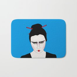 Grumpy Geisha // Japanese Style Bath Mat