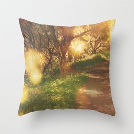 Oak Trail Throw Pillow