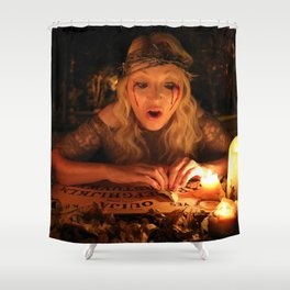 "VAMPLIFIED ""The Ouija Board"" Shower Curtain"
