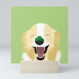 It's A Happy Dog Life Mini Art Print