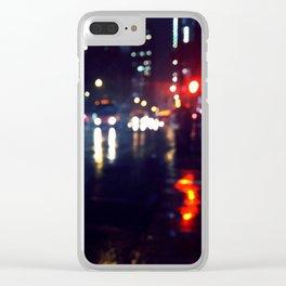 Rainy Daze Clear iPhone Case