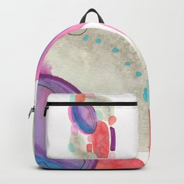 Improvisation Colors and forms Backpack