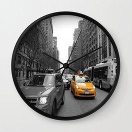 NY´s cab Wall Clock