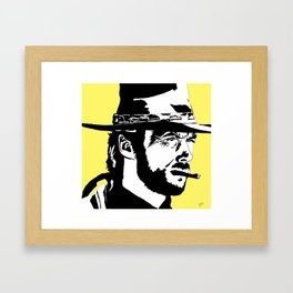 Clint Framed Art Print
