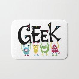 Geek Monsters Bath Mat