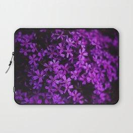Flowers in Purple, Ultra Violet Laptop Sleeve