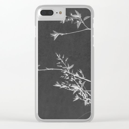 Fade To Black Clear iPhone Case