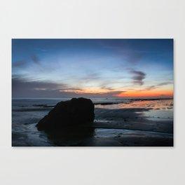 Sunset Handry's Beach Canvas Print