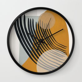 Abstract Shapes 33 Wall Clock
