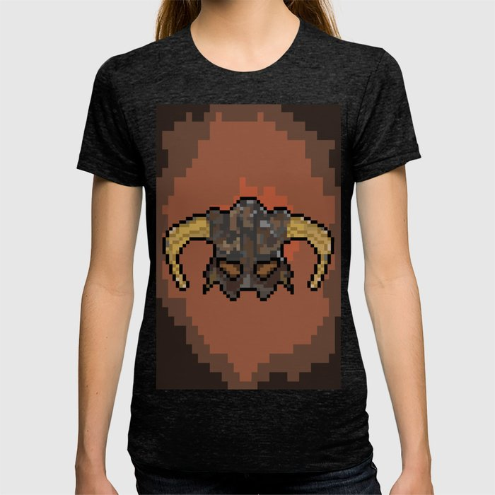 1f3d3a62 Skyrim Dragonborn T-shirt by ketdr | Society6