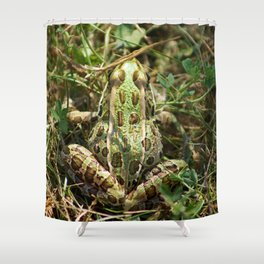 The frog Shower Curtain