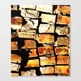 Failed Brickworks Canvas Print