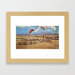 Snacktime Framed Art Print