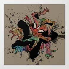 the Spider-man Canvas Print