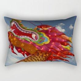 Dragon Head Rectangular Pillow