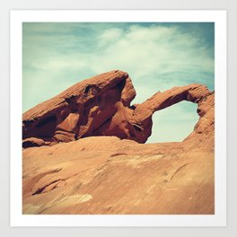 Arch Rock Art Print