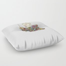 sleeping child Floor Pillow