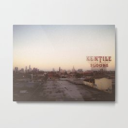 Brooklyn View Metal Print