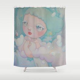little twinkle Shower Curtain
