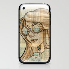 Iron Woman 1 iPhone & iPod Skin