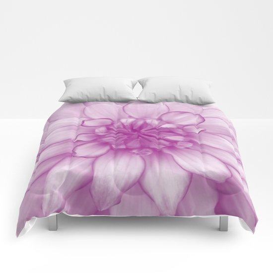Dahlia Radiant Orchid  - JUSTART © Comforters
