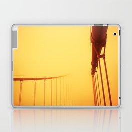 Golden - Golden Gate Bridge Laptop & iPad Skin