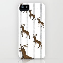 The march of the hind iPhone Case