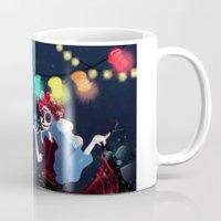 dia de los muertos Mugs featuring Dia de los muertos by Lenore2411