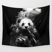 bears Wall Tapestries featuring bears by kian02