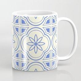 Modern Abstract Flower Pattern Art Print Coffee Mug